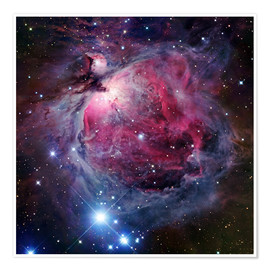 Plakat The Orion Nebula