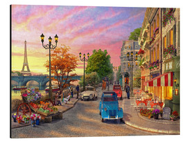 Obraz na aluminium  Sunset on the Seine - Dominic Davison