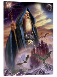 Obraz na szkle akrylowym  The high Mage - Dragon Chronicles