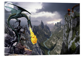 Obraz na szkle akrylowym  Dragon valley - Dragon Chronicles