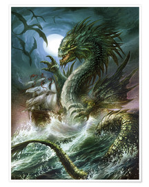 Plakat  The sea serpent - Dragon Chronicles