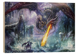 Obraz na drewnie  Dragon attack - Dragon Chronicles