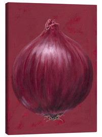 Obraz na płótnie  Red onion - Brian James