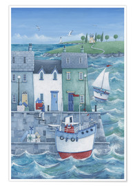 Plakat  Harbour gifts - Peter Adderley