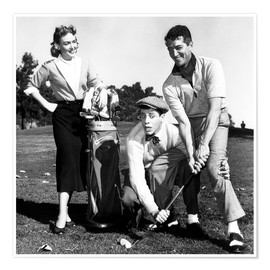 Plakat THE CADDY, Donna Reed, Jerry Lewis, Dean Martin