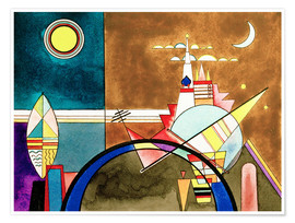 Plakat  Pictures at an Exhibition, Picture XVI - Wassily Kandinsky