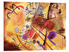 Obraz na PCV  Small dream in red - Wassily Kandinsky