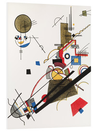 Obraz na PCV  Happy ascent - Wassily Kandinsky