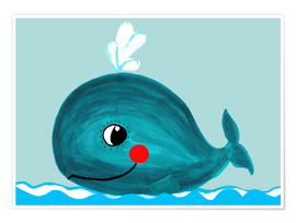 Plakat Willow, the friendly whale