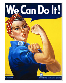 Plakat  We Can Do It! - Advertising Collection