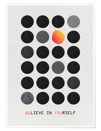 Plakat  Be You - Elisabeth Fredriksson