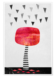 Plakat  The Red Tree - Elisabeth Fredriksson