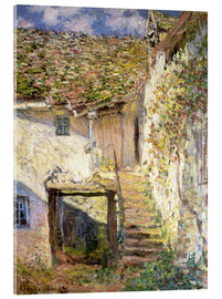 Obraz na szkle akrylowym  The staircase - Claude Monet
