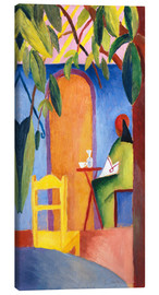 Obraz na płótnie  Turkish Café II - August Macke