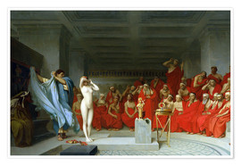 Plakat Phryne before the Areopagus