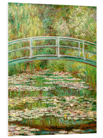 Obraz na PCV  The Japanese bridge - Claude Monet