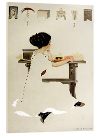 Obraz na szkle akrylowym  Know all men by these presents - Clarence Coles Phillips