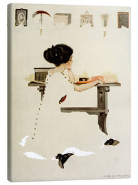 Obraz na płótnie  Know all men by these presents - Clarence Coles Phillips