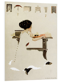 Obraz na PCV  Know all men by these presents - Clarence Coles Phillips