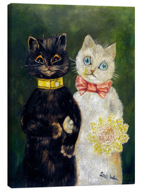 Obraz na płótnie  Cats Wedding - Louis Wain