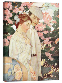 Obraz na płótnie  Lovers - Jessie Willcox Smith