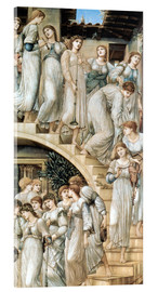 Obraz na szkle akrylowym  The Golden Stairs - Edward Burne-Jones