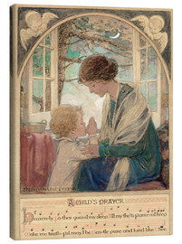 Obraz na płótnie  A Child's Prayer - Jessie Willcox Smith