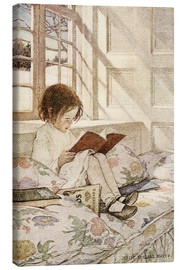 Obraz na płótnie  Picture books in winter - Jessie Willcox Smith