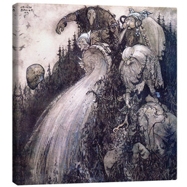 Obraz na płótnie  Troll of the forest - John Bauer