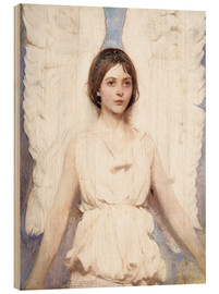Obraz na drewnie  Angel - Abbott Thayer
