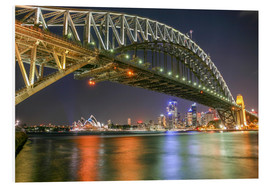 Obraz na PCV  Sydney Harbour Bridge I - Thomas Hagenau