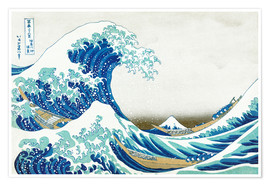 Plakat The Great Wave off Kanagawa