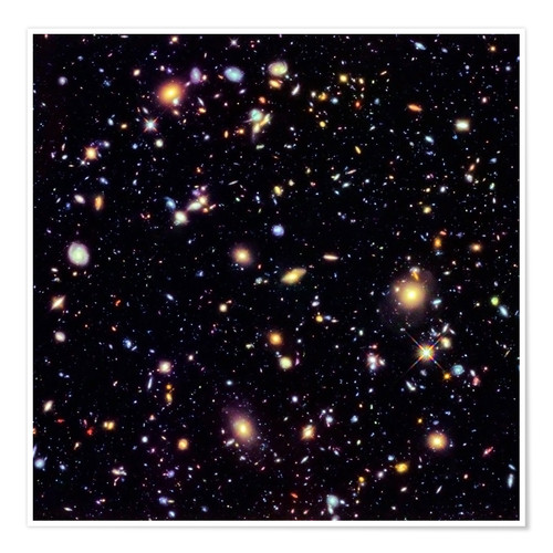 Plakat Hubble Extreme Deep Field