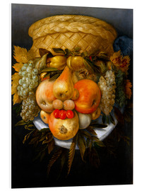 Obraz na PCV  Portrait of a man from fruits - Giuseppe Arcimboldo