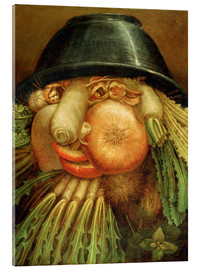 Obraz na szkle akrylowym  The Vegetable Gardener - Giuseppe Arcimboldo