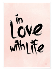 Plakat in love with life