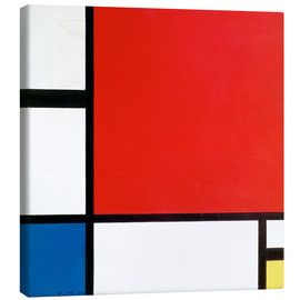 Obraz na płótnie  Composition with Red, Yellow and Blue - Piet Mondriaan