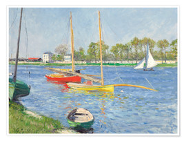 Plakat The Seine at Argenteuil