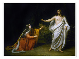 Plakat Christ's Appearance to Mary Magdalene after the Resurrection