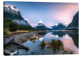 Obraz na płótnie  Sunrise at Milford Sound, NZ - Matteo Colombo