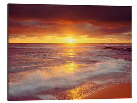 Obraz na aluminium  Sunset on the Pacific - Jaynes Gallery