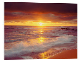 Obraz na PCV  Sunset on the Pacific - Jaynes Gallery