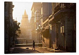 Obraz na aluminium  Road at dawn, Havana - Lee Frost