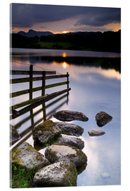 Obraz na szkle akrylowym  Loughrigg Tarn in England - Jeremy Lightfoot