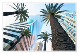 Plakat  Downtown, Los Angeles, California, United States of America, North America - Gavin Hellier
