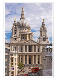Plakat St. Paul's Cathedral, London
