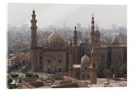 Obraz na szkle akrylowym  Mosque of Sultan Hassan in Cairo old town, Cairo, Egypt, North Africa, Africa - Martin Child