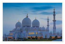 Plakat Sheikh Zayed Grand Mosque