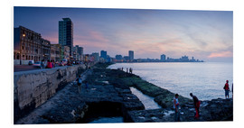 Obraz na PCV  The Malecon, Havana, Cuba, West Indies, Central America