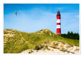 Plakat Amrum Lighthouse